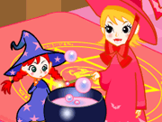 Play Witch Room Decorate